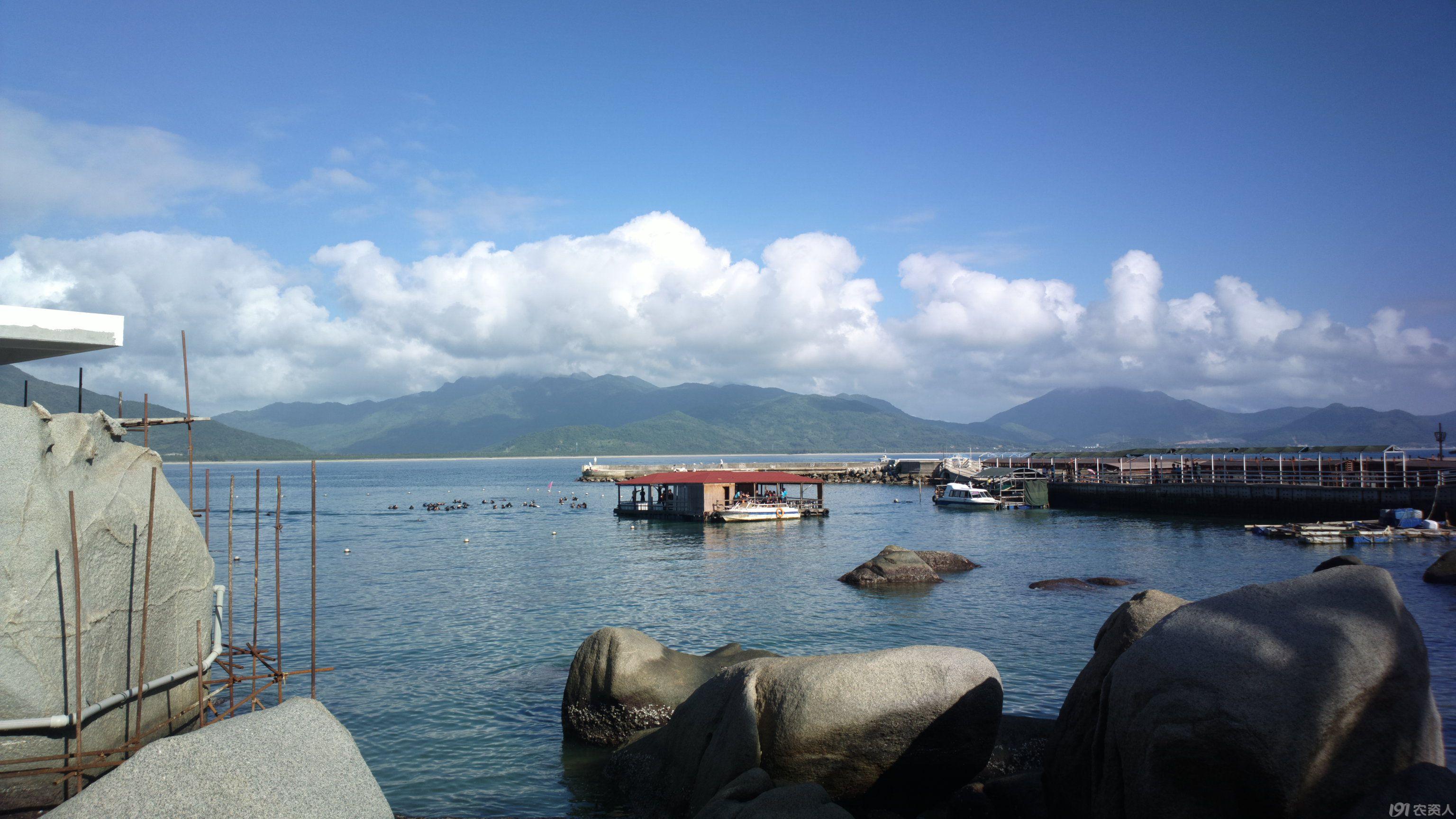 继续发海南分界洲岛风景