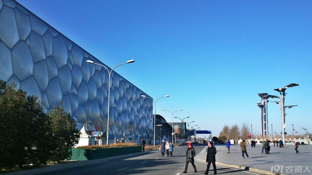 我爱北京之奥林匹克公园了望塔