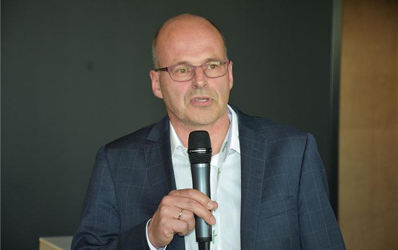 荷兰易普润国际CEO Erik van den Bergh酒会致词