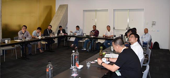 易普润中国公司的渠道精英们单独一个会议室