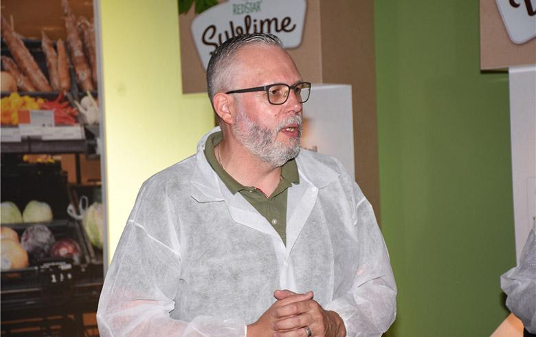 负责服务Redstar公司的易普润农艺师之一: Gert-Jan Dillo