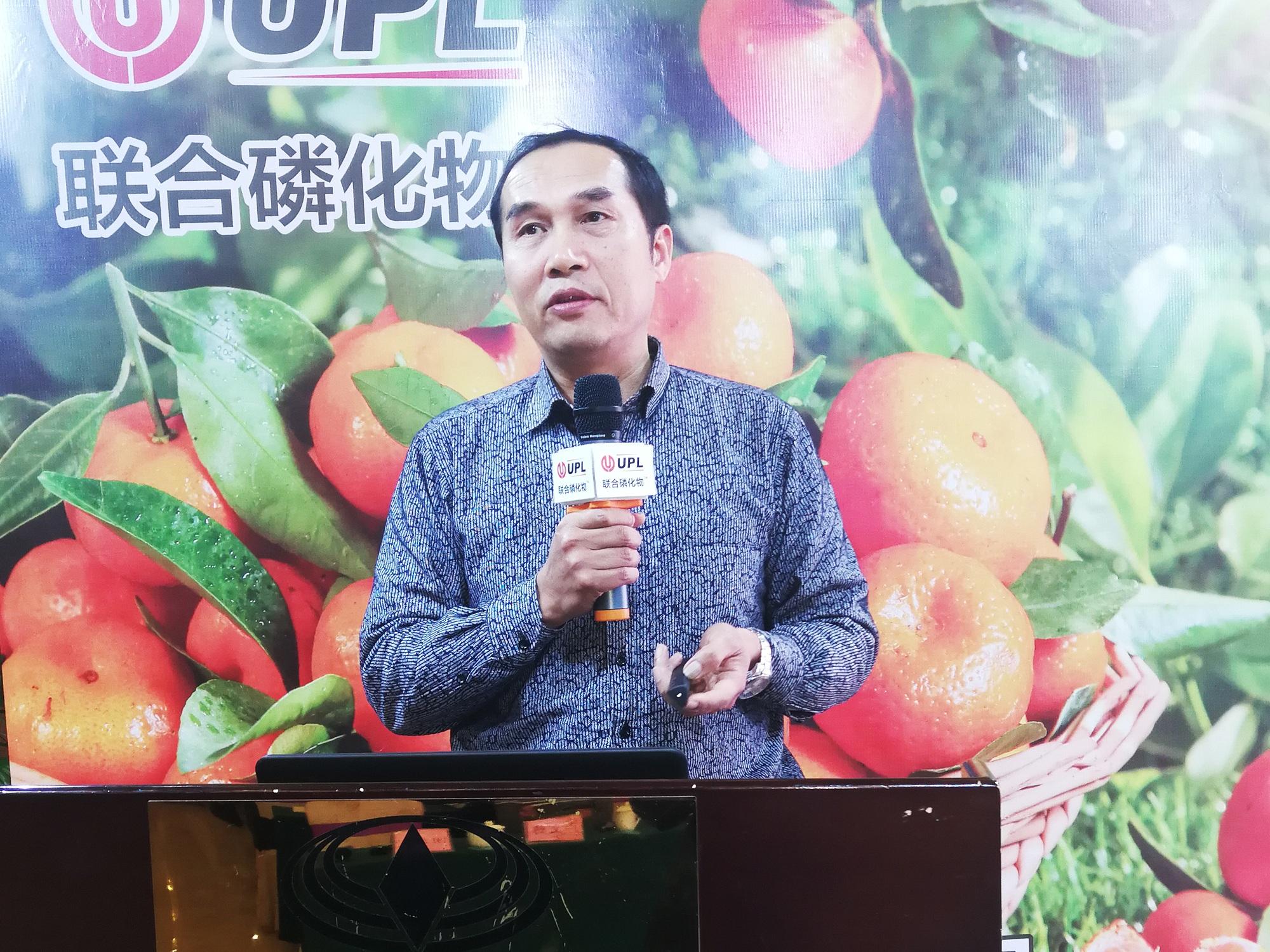 广西特色作物研究院柑橘研究所研究员甘海峰